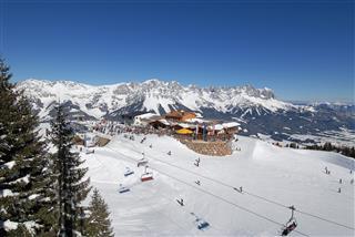 Panoramarestaurant Bergkaiser - Kaiserlounge